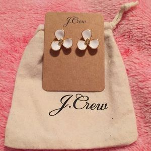 JCREW petite petal earrings